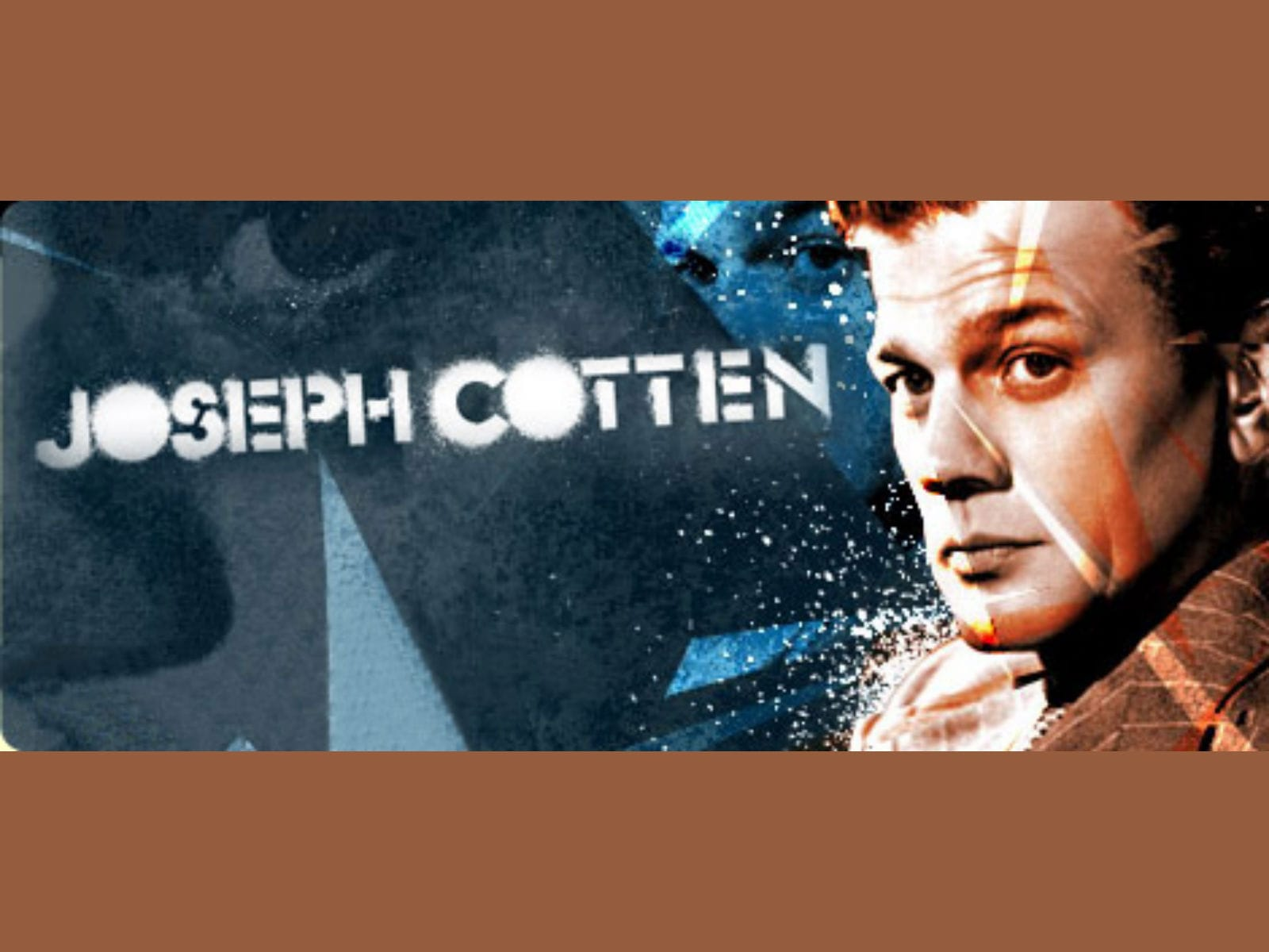 Joseph Cotten Widescreen for desktop