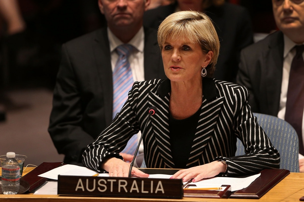 Julie Bishop Widescreen for desktop