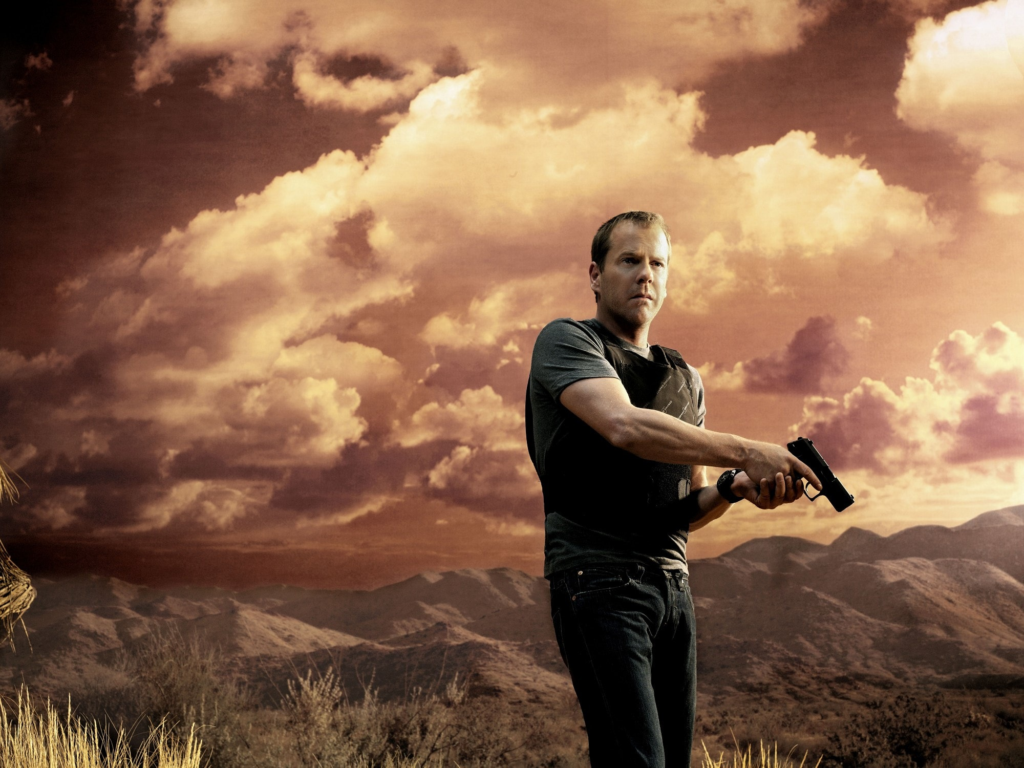 Kiefer Sutherland Widescreen for desktop