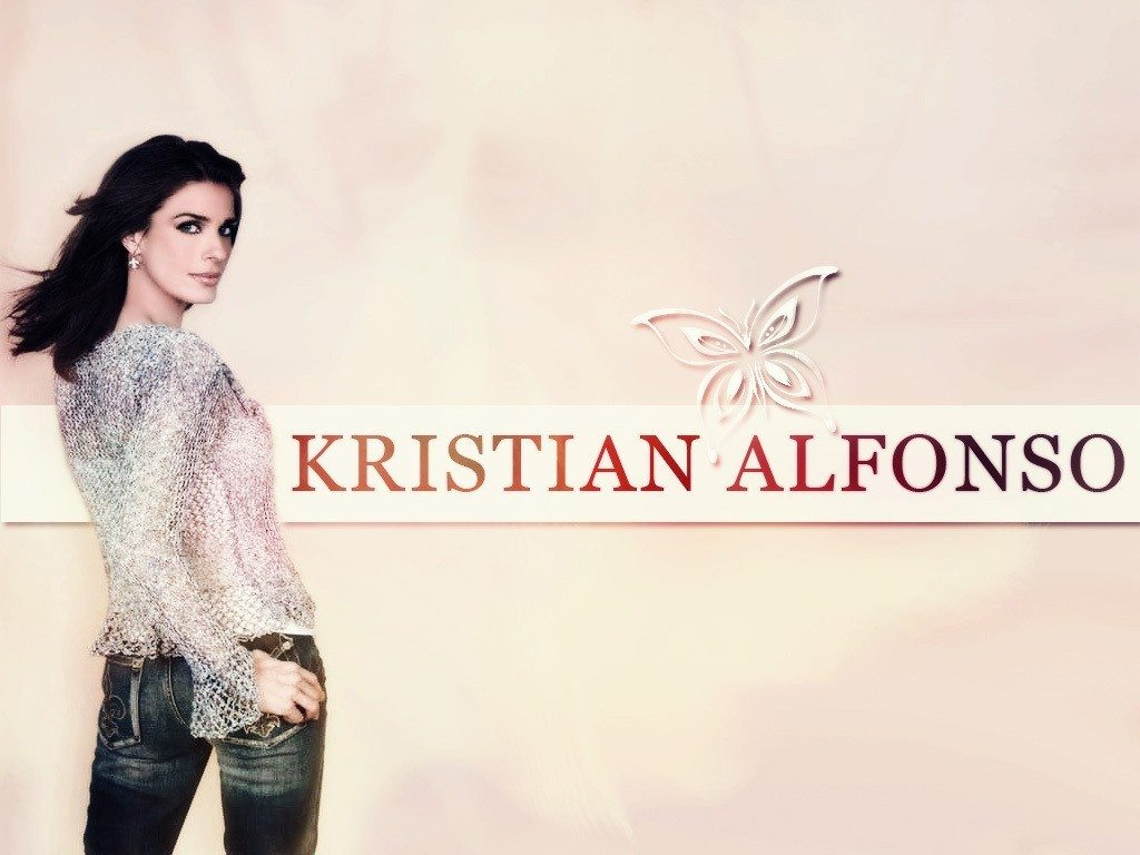 Kristian Alfonso Widescreen for desktop