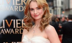 Lily James Widescreen for desktop