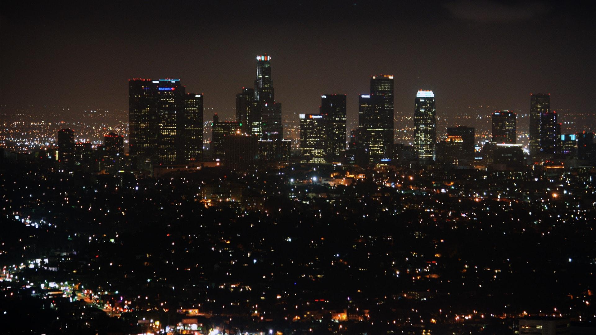 Los Angeles widescreen for desktop