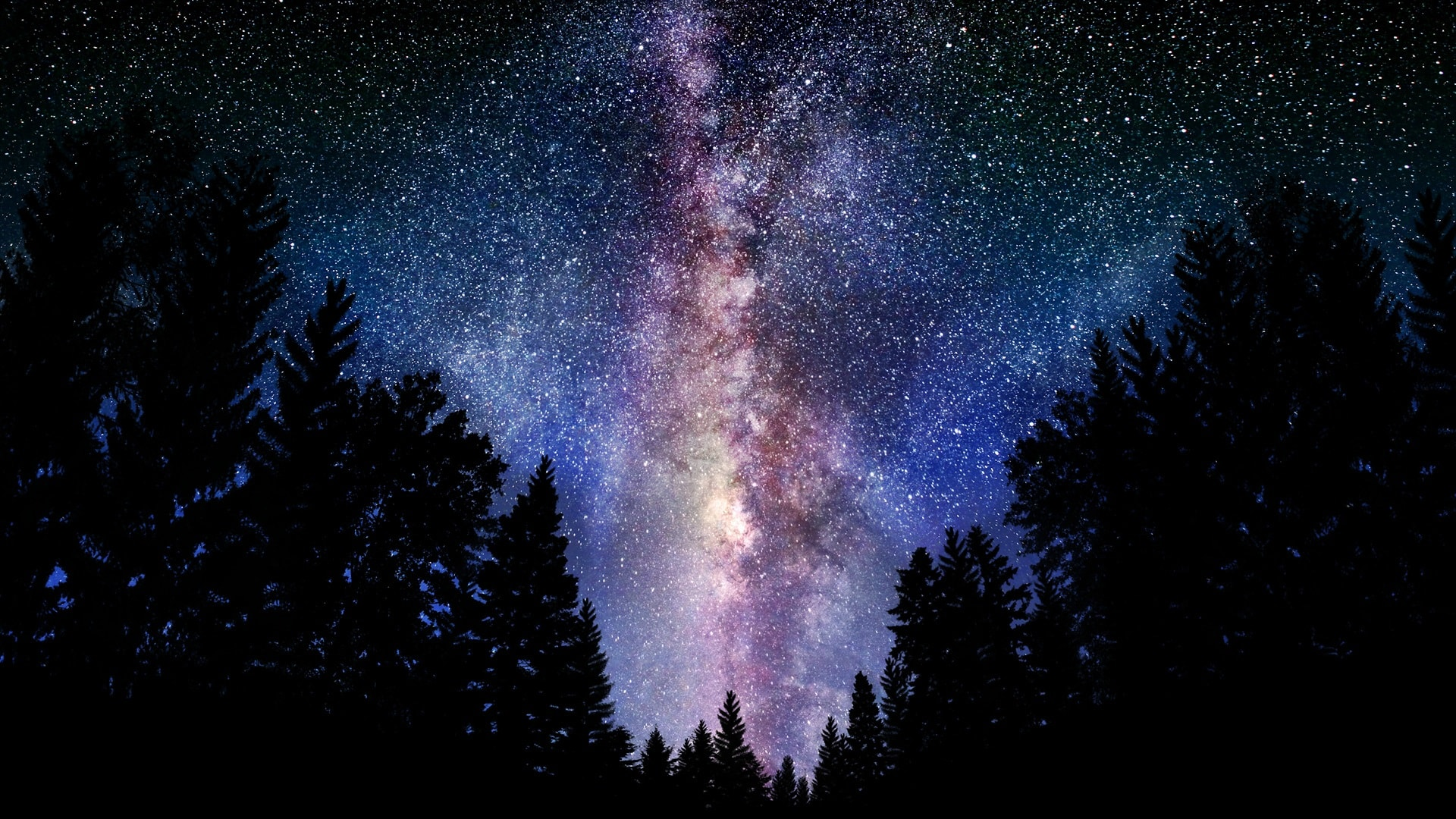 Milky Way Widescreen for desktop