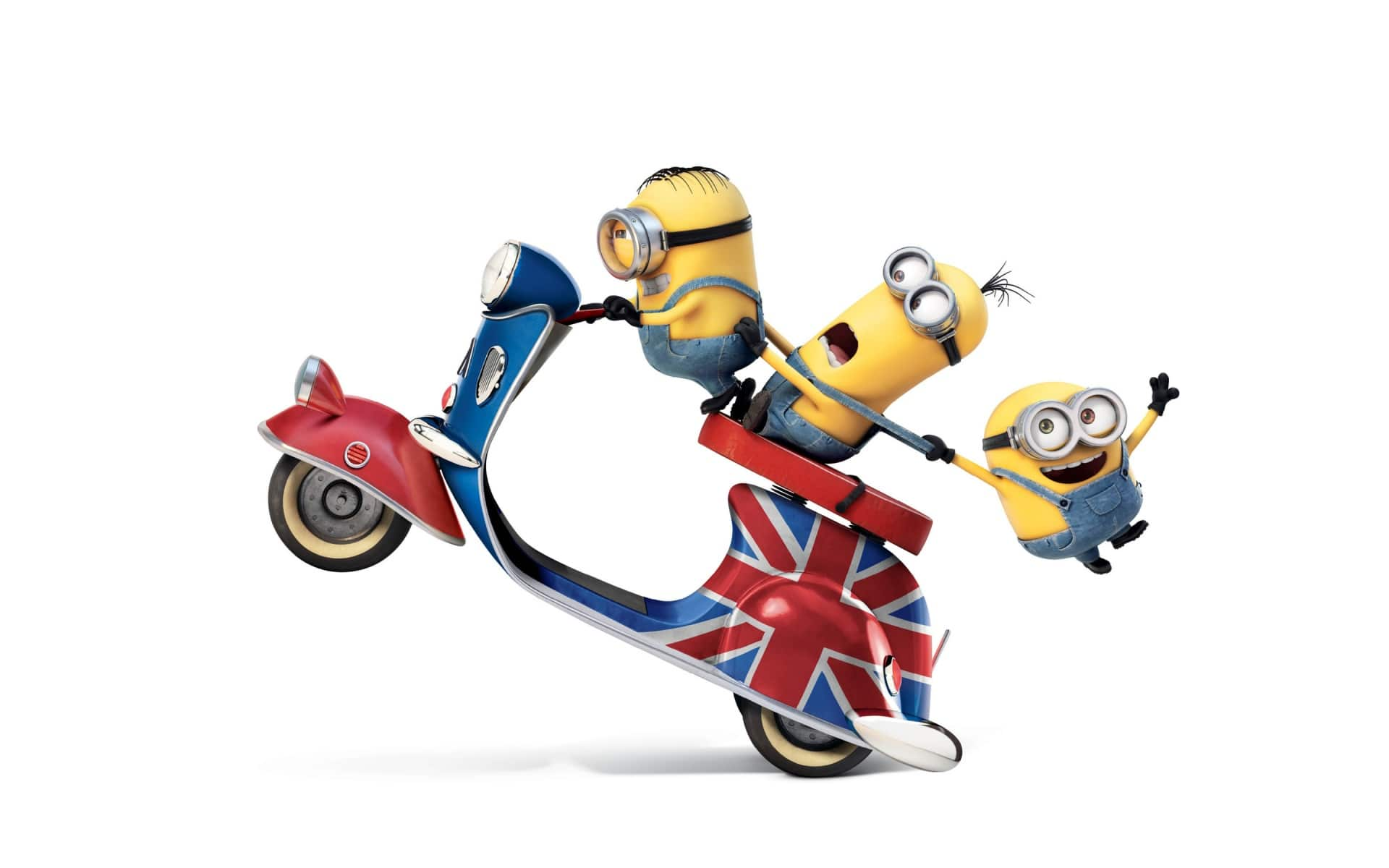 Minions widescreen for desktop