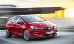 Opel Astra K Widescreen for desktop
