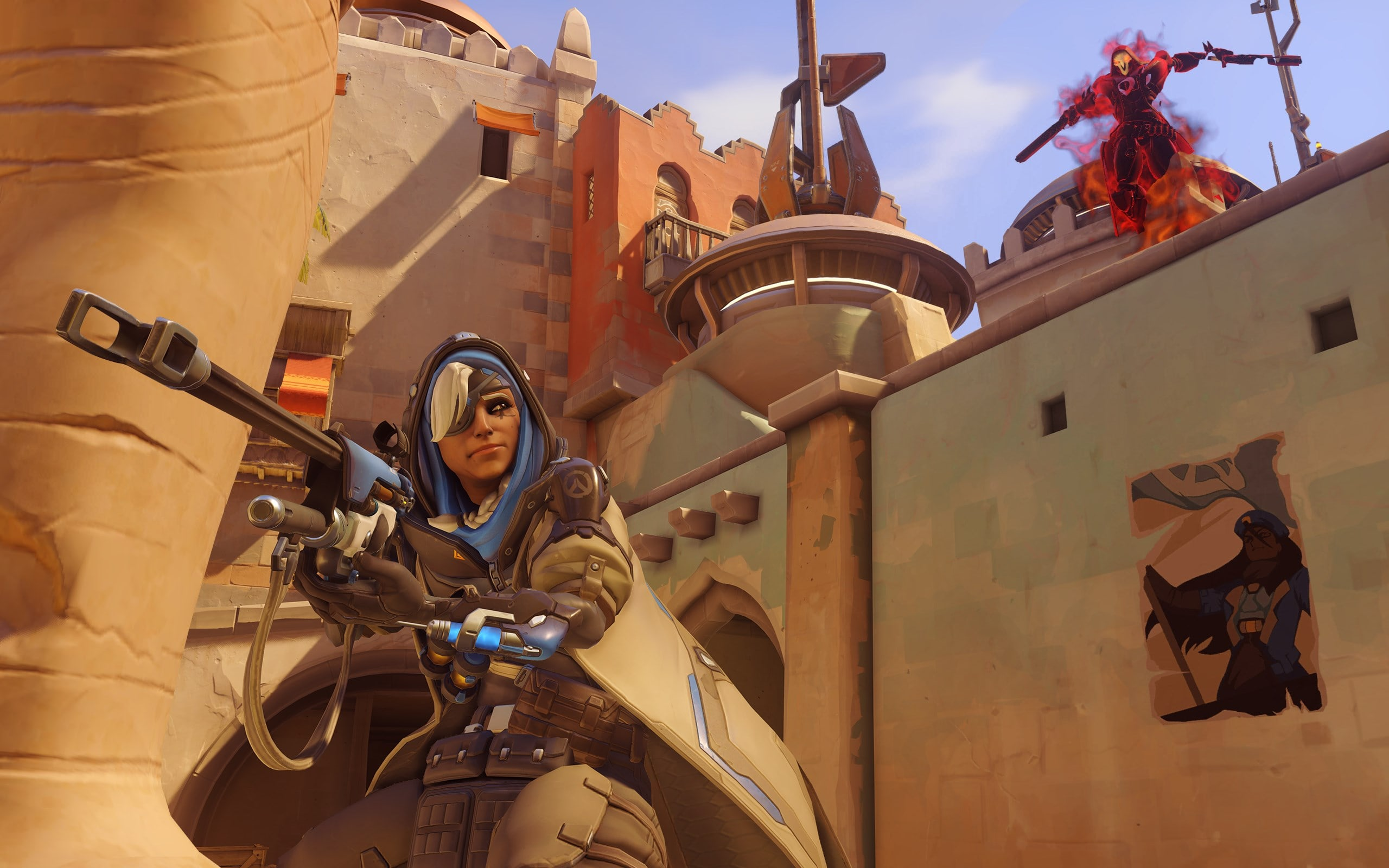 Overwatch : Ana Widescreen for desktop