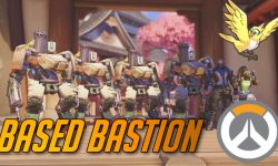 Overwatch : Bastion Widescreen for desktop