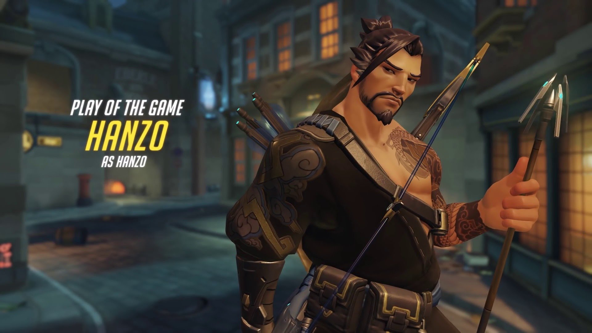 Overwatch : Hanzo Widescreen for desktop
