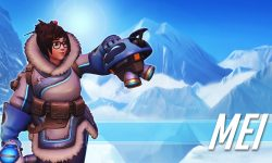 Overwatch : Mei Widescreen for desktop