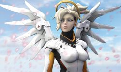 Overwatch : Mercy Widescreen for desktop