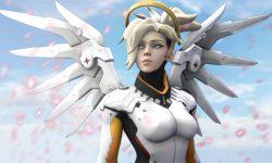 Overwatch : Mercy Widescreen for desktop