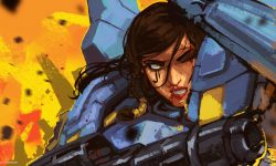 Overwatch : Pharah Widescreen for desktop