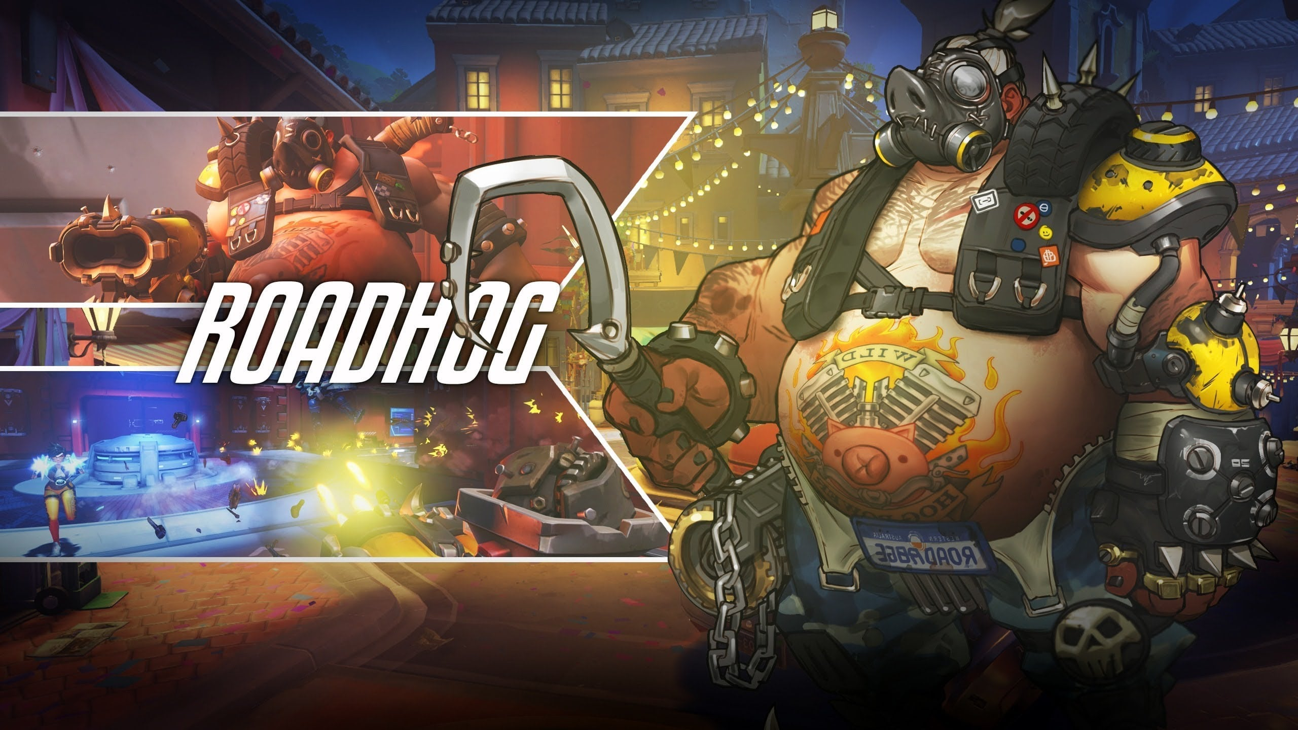 Overwatch : Roadhog Widescreen for desktop