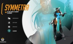 Overwatch : Symmetra Desktop wallpaper