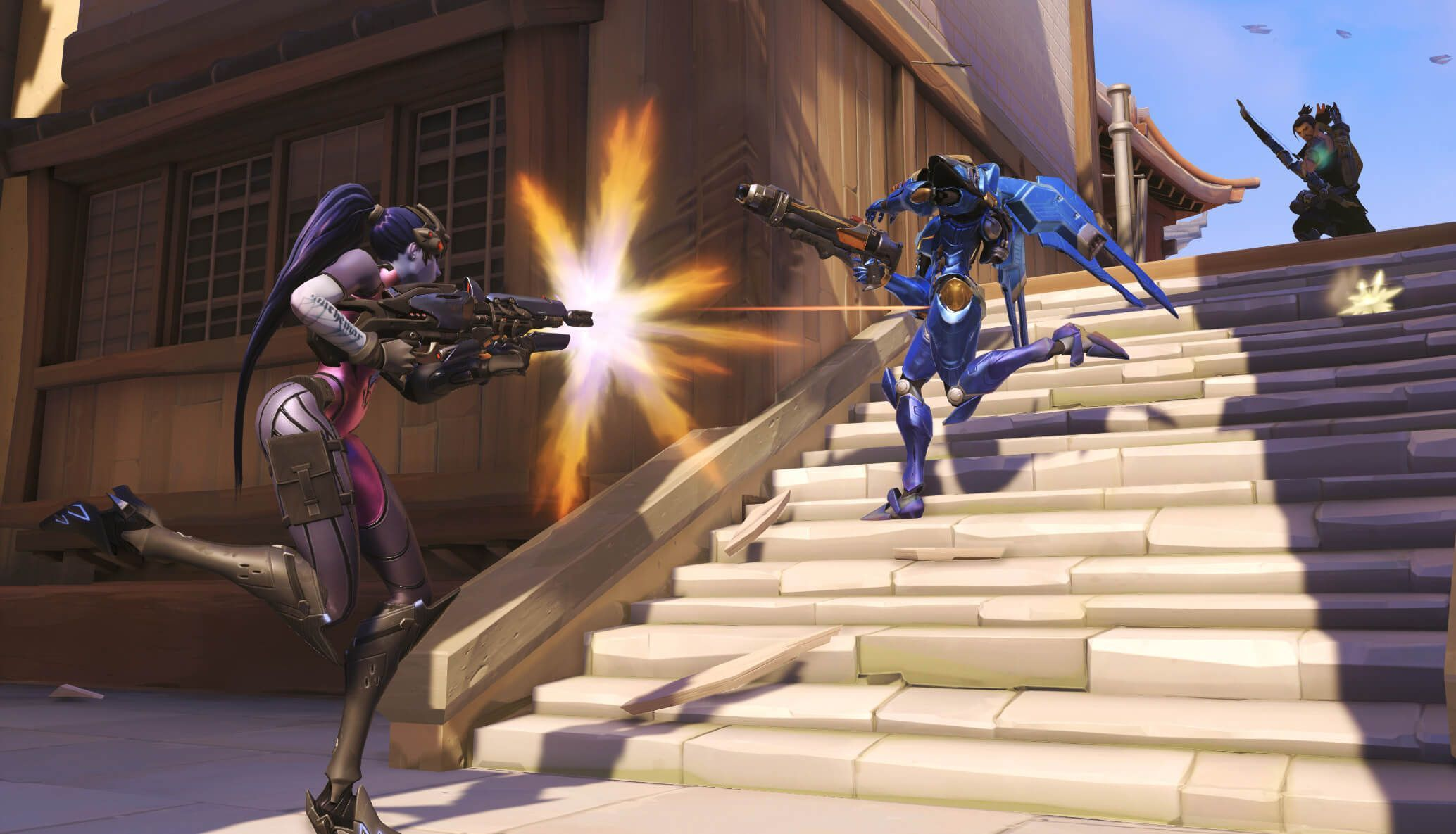 Overwatch : Widowmaker Widescreen for desktop