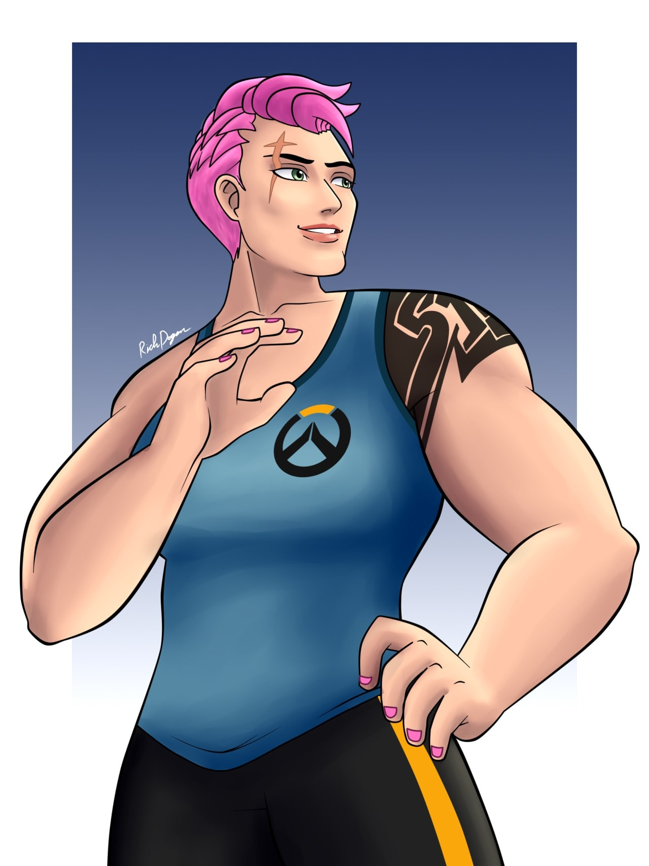 Overwatch : Zarya For mobile
