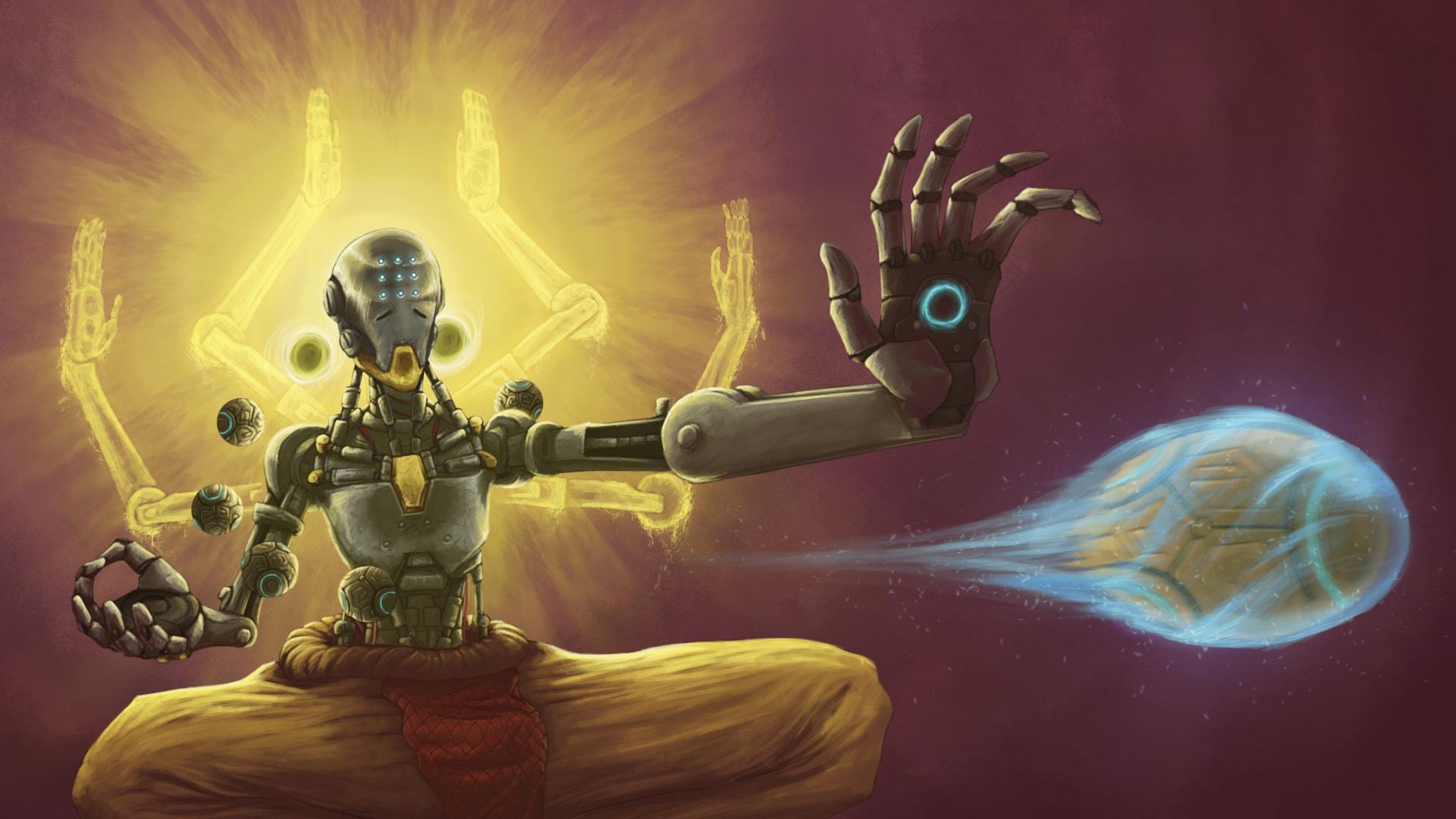 Overwatch : Zenyatta Desktop wallpaper