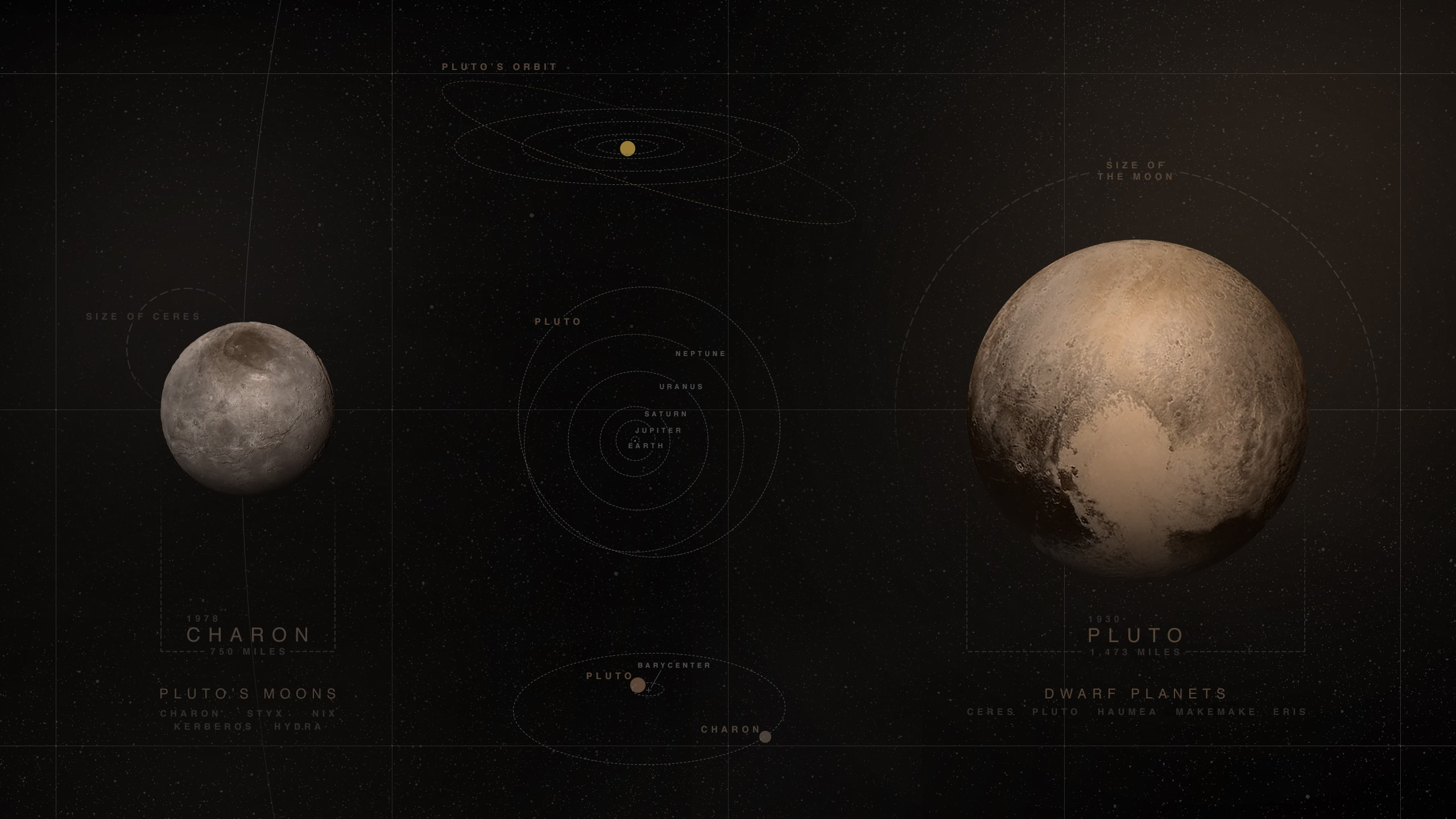 Pluto Widescreen for desktop