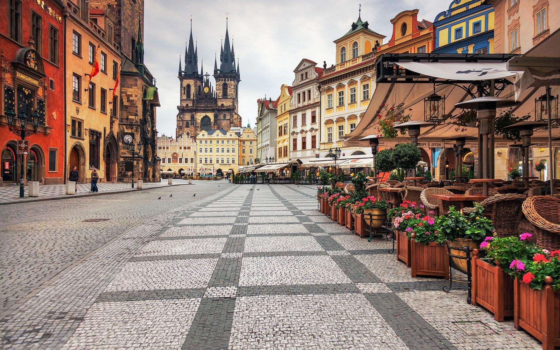 Prague widescreen for desktop