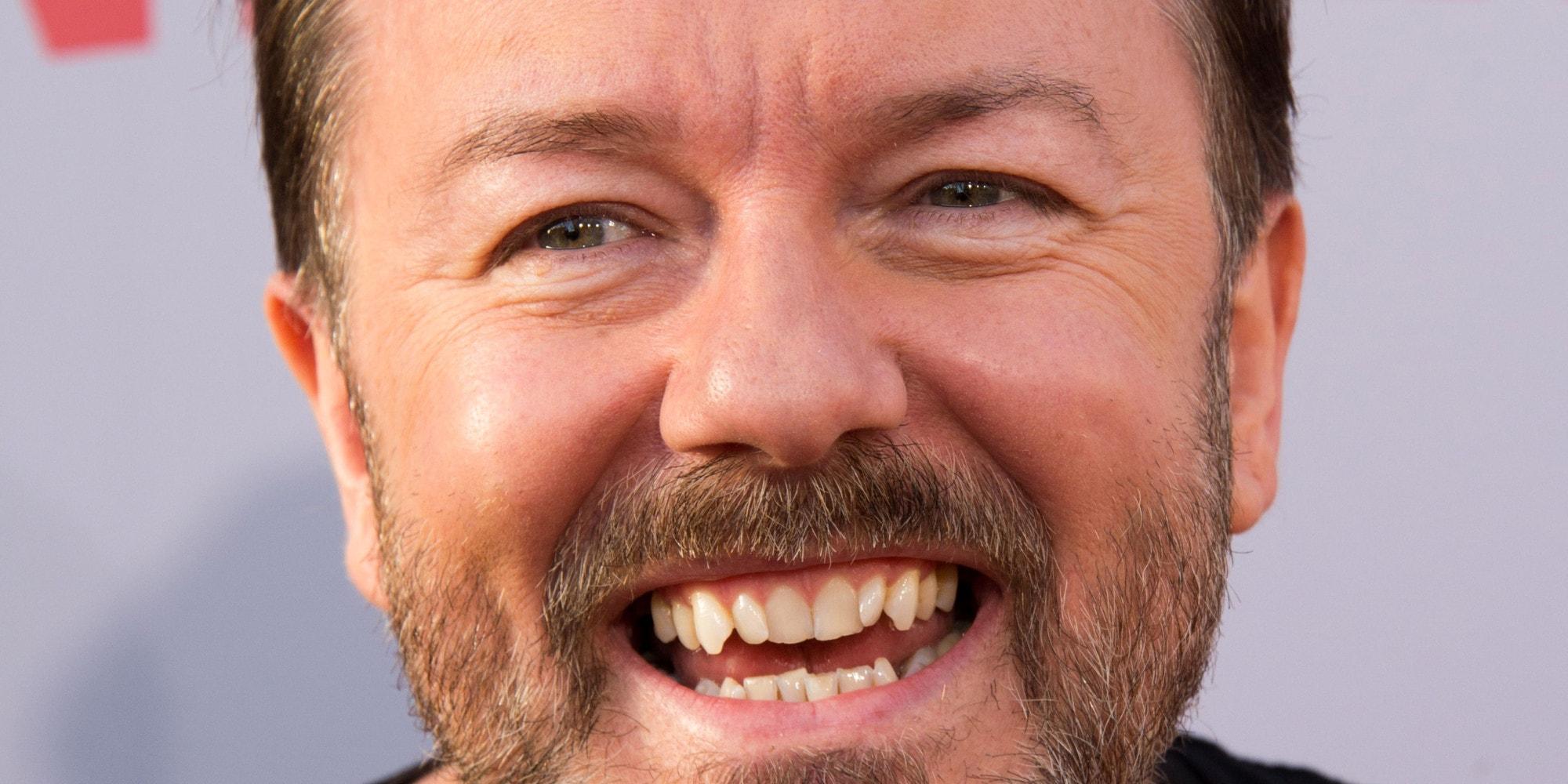 Ricky Gervais Widescreen for desktop