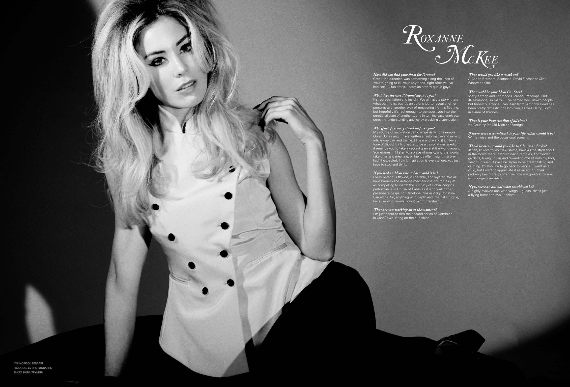 Roxanne Mckee Widescreen for desktop