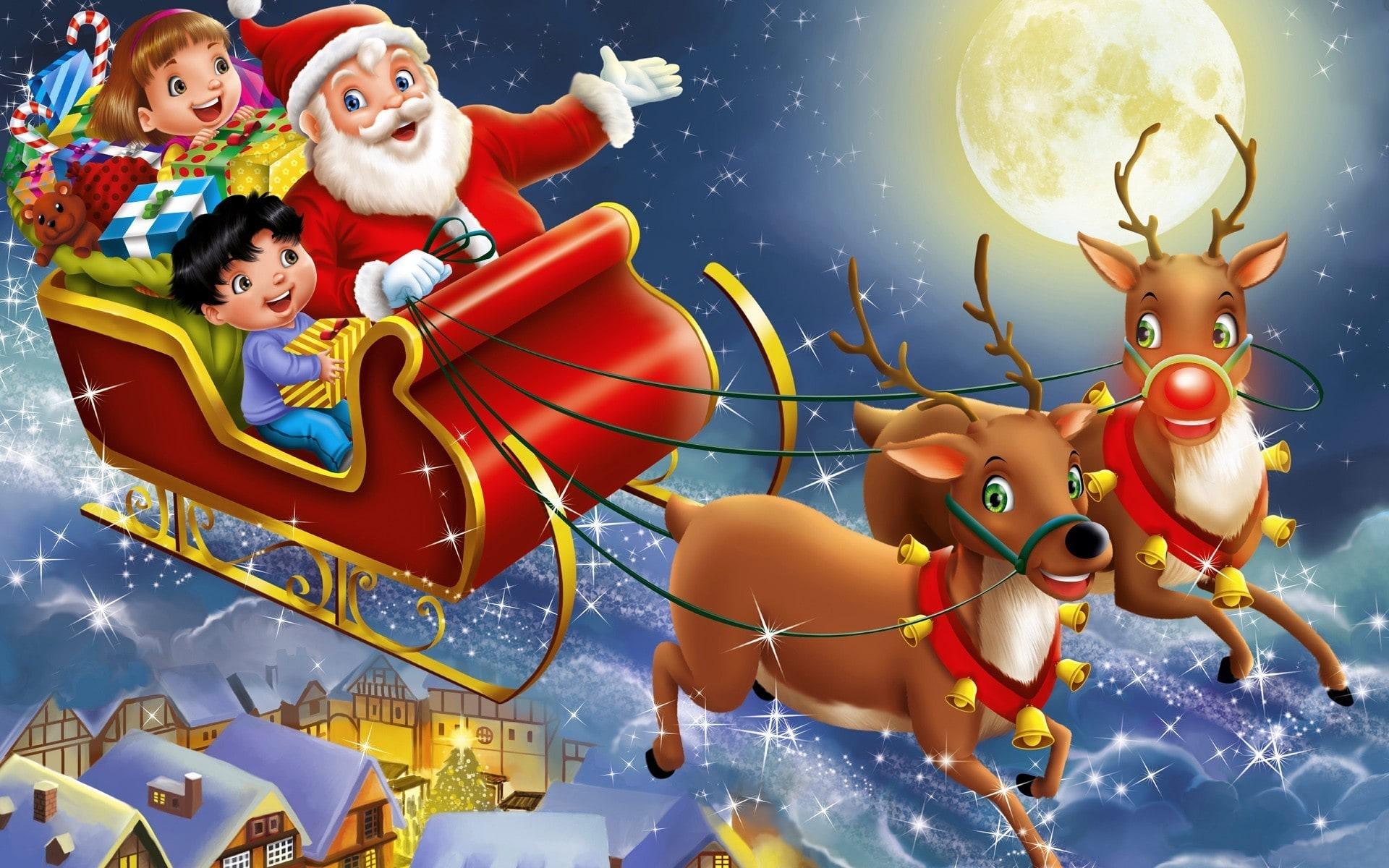 Santa Claus Widescreen for desktop