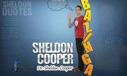 Sheldon Cooper Widescreen for desktop