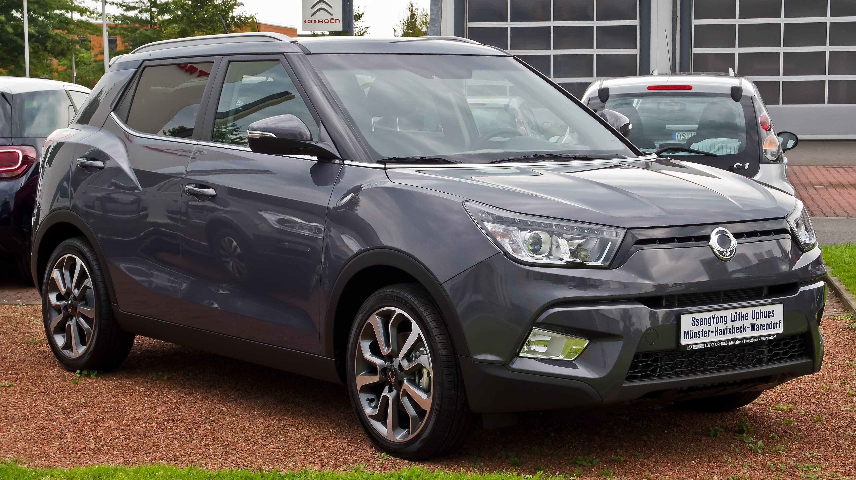 SsangYong Tivoli Widescreen for desktop