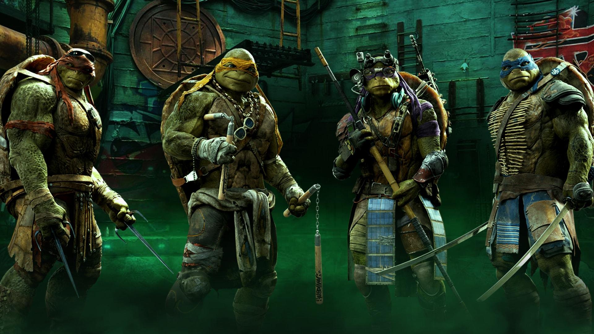 Teenage Mutant Ninja Turtles widescreen for desktop