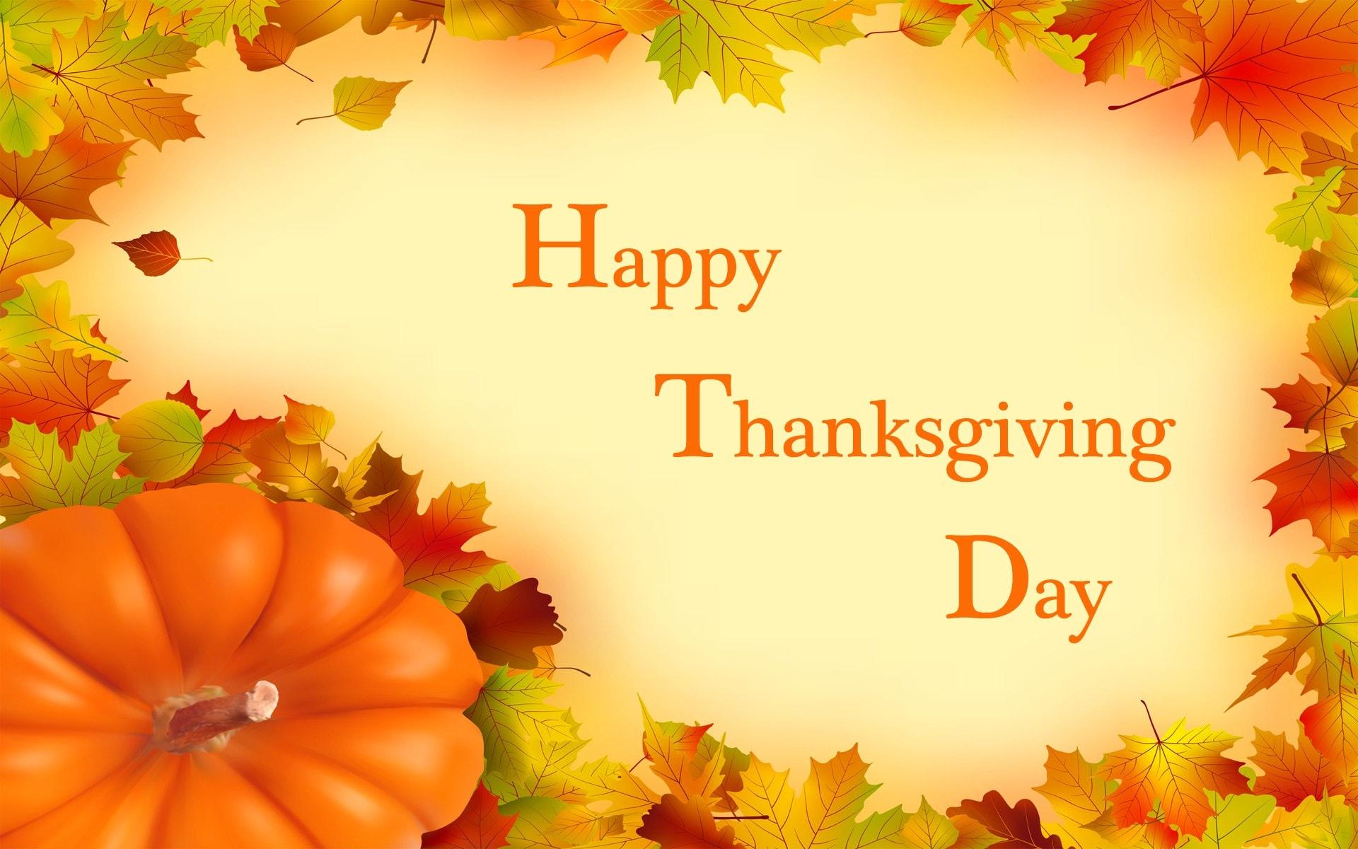 Thanksgiving Widescreen for desktop