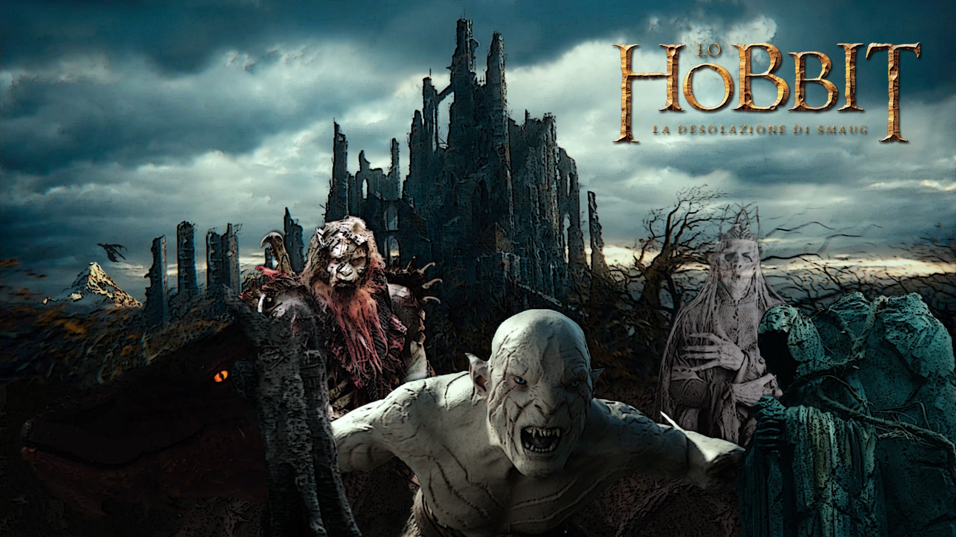 The Hobbit Desolation Of Smaug Widescreen For Desktop