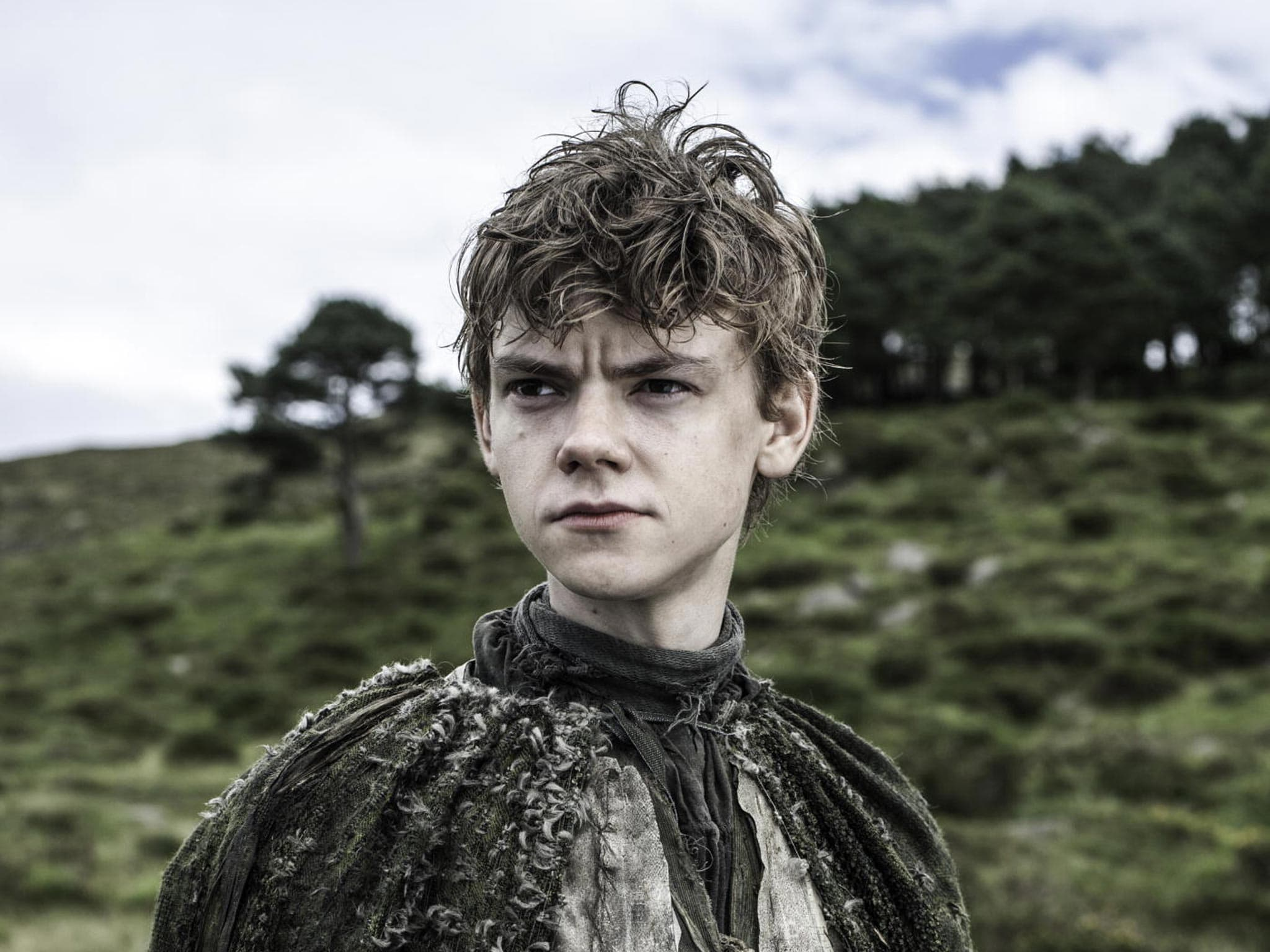 Thomas Brodie-Sangster Widescreen for desktop
