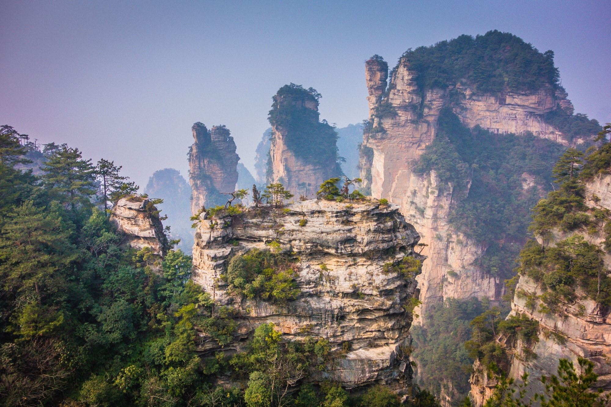 Tianzi Mountain Widescreen for desktop