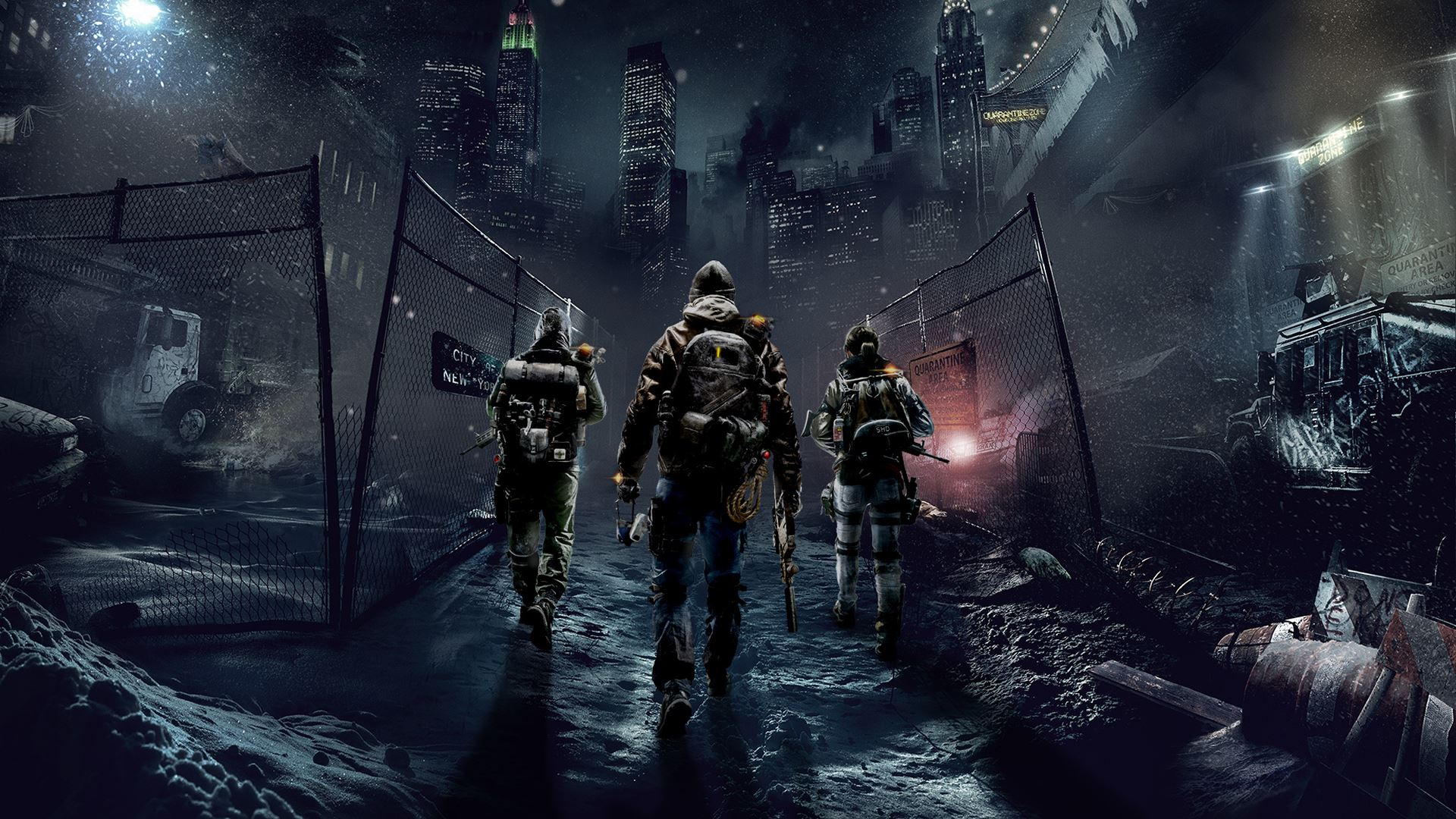 Tom Clancy's The Division Widescreen for desktop