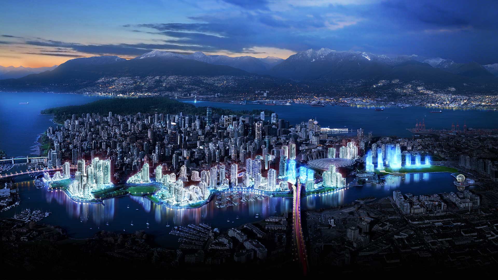 Vancouver Widescreen for desktop