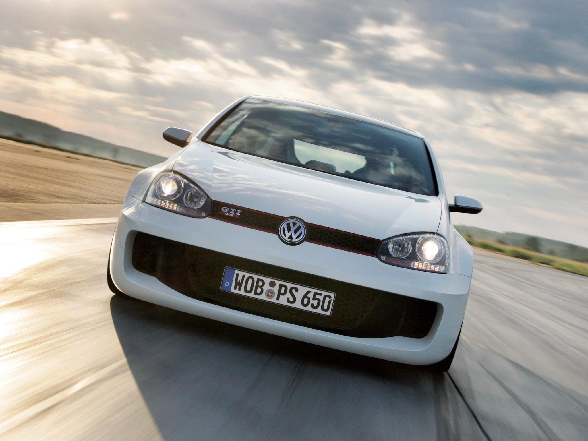 Volkswagen Golf GTI W12-650 Concept Full hd wallpapers