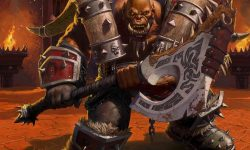 WOW: Garrosh Hellscream widescreen for desktop