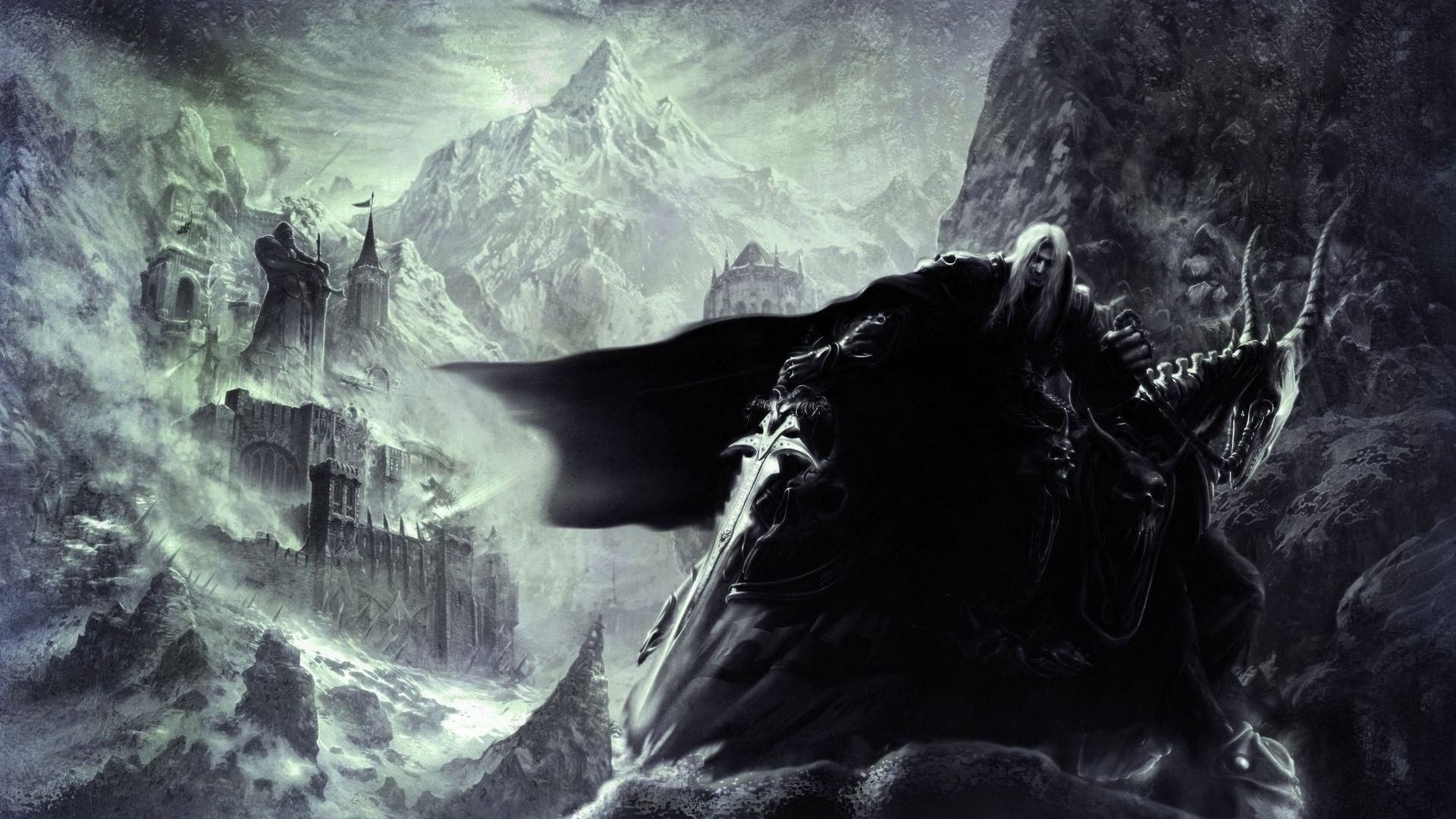 WOW: The Lich King widescreen for desktop