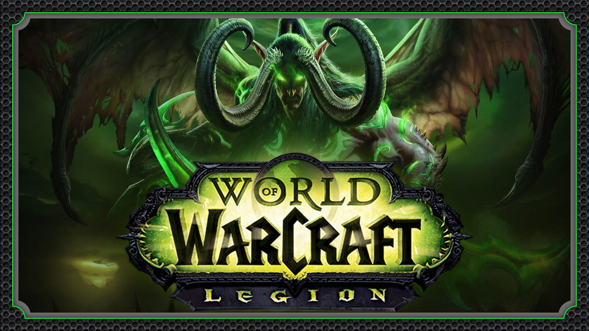 World of Warcraft: Legion Widescreen for desktop