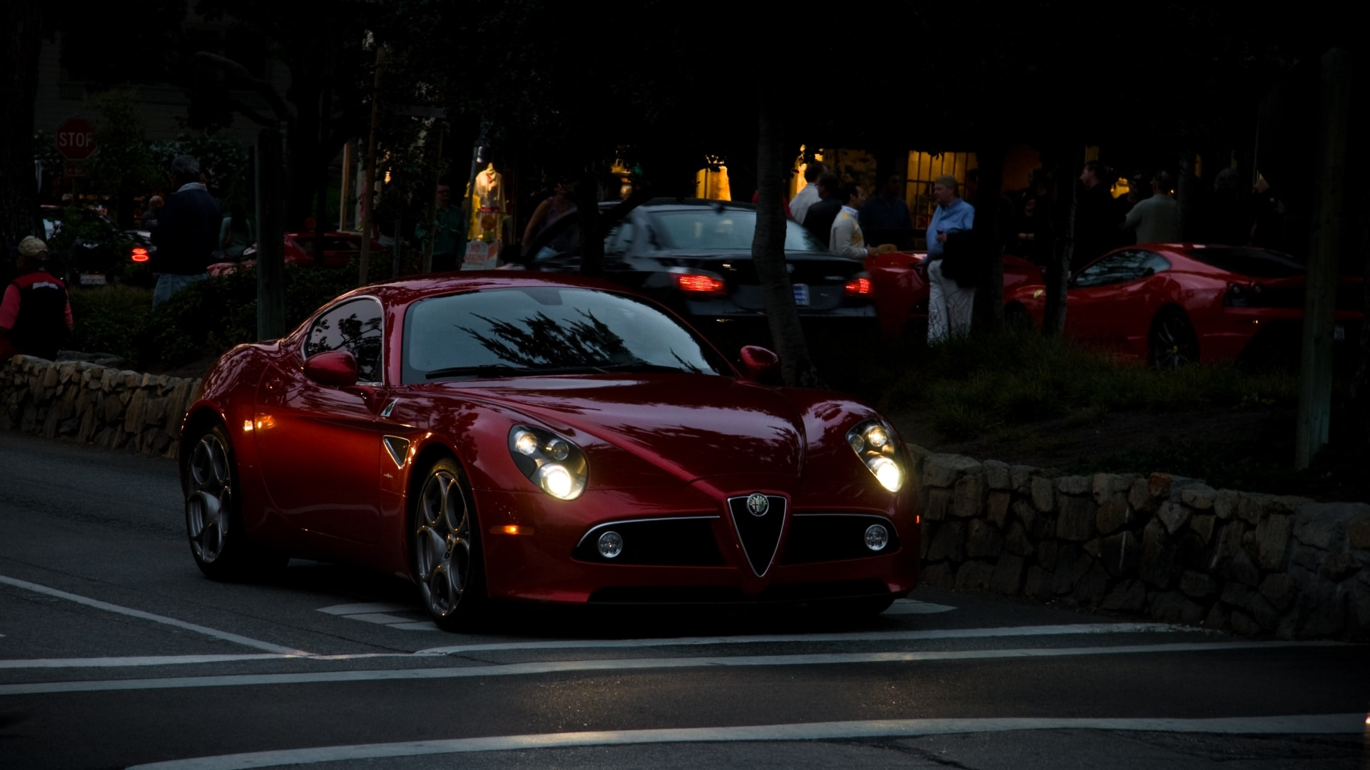 Alfa Romeo 8c High