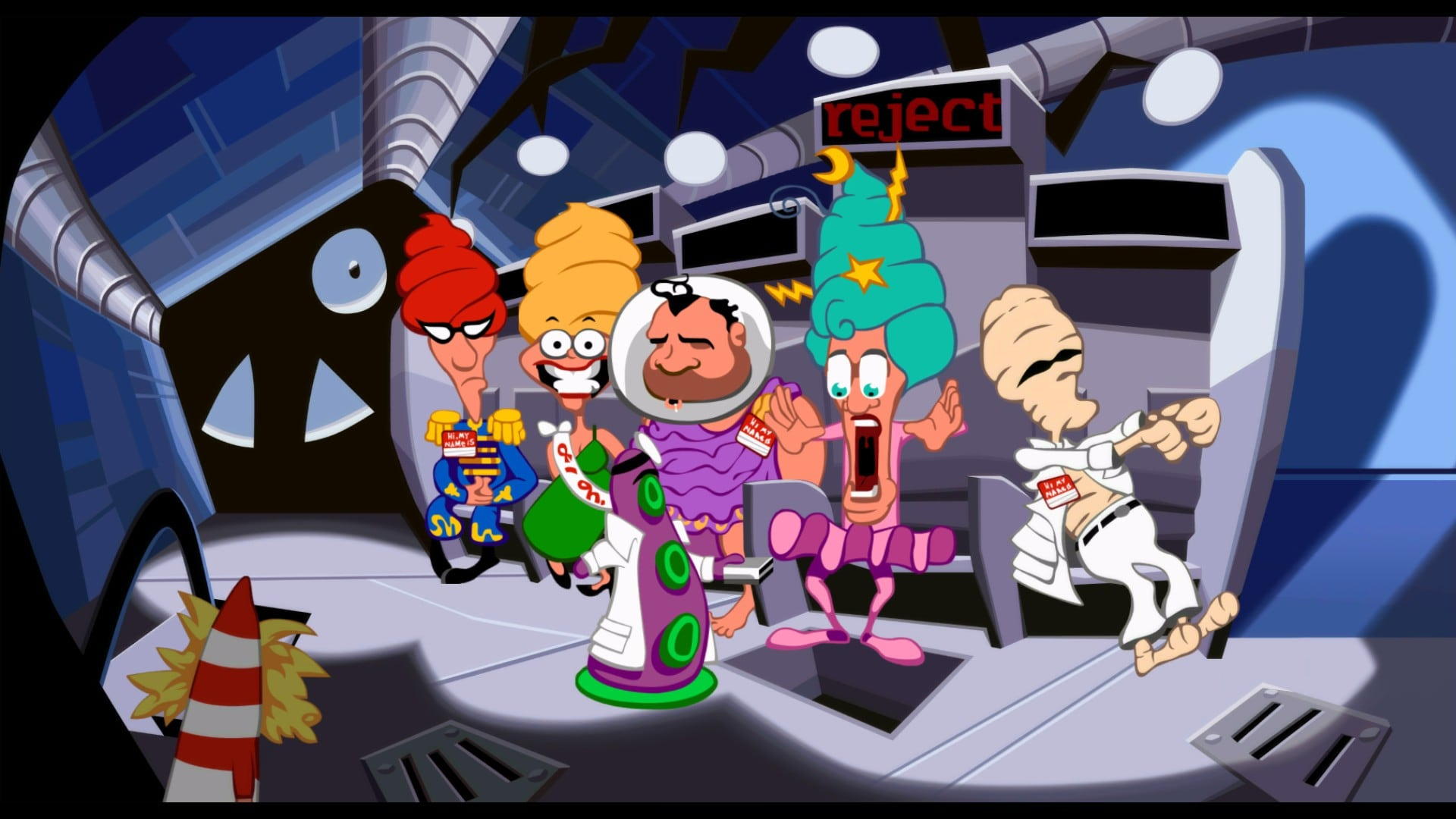 Day of the Tentacle Remastered 2016 High