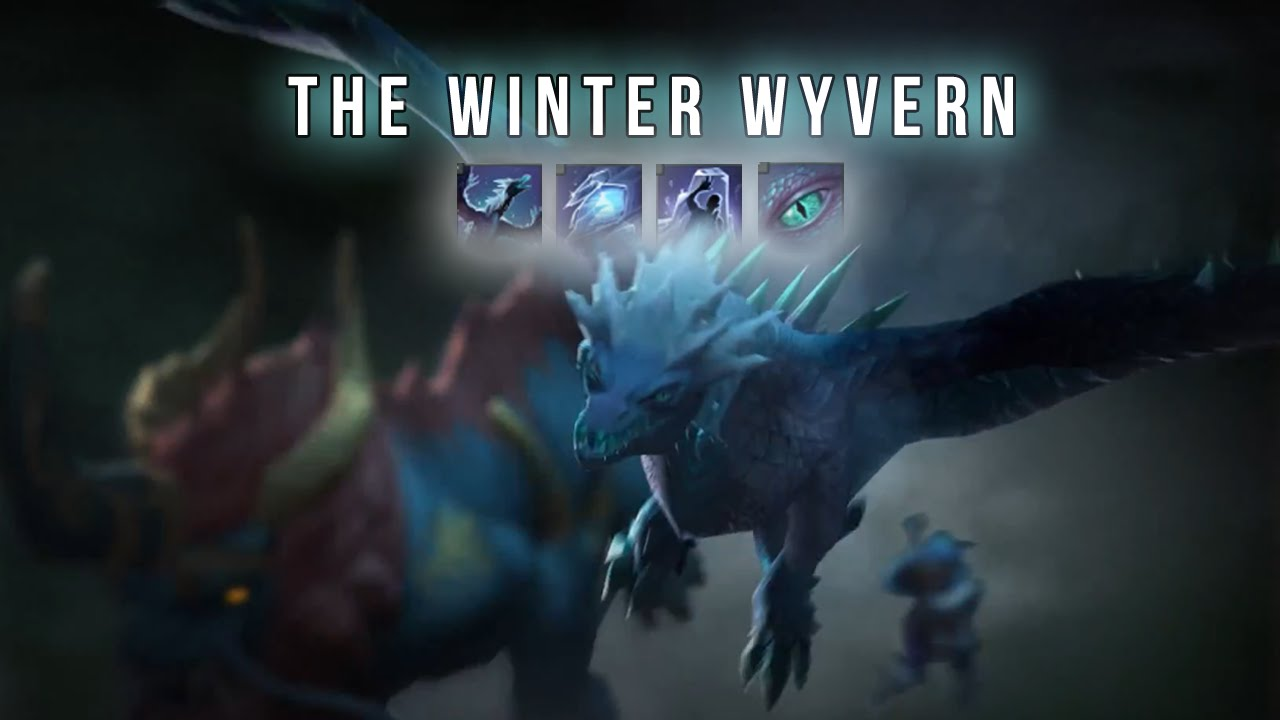 Dota 2 : Winter Wyvern High