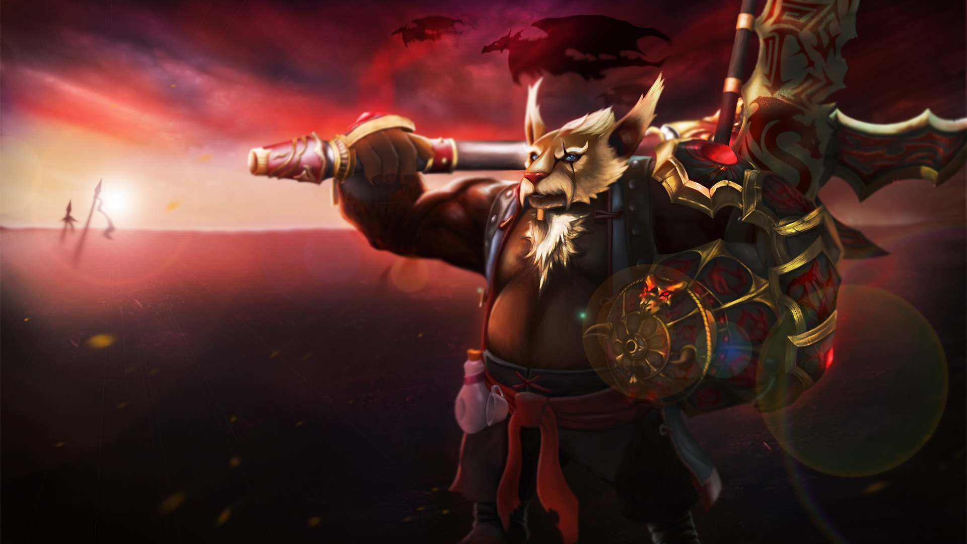 Dota2 : Brewmaster desktop wallpaper