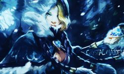 Dota2 : Crystal Maiden High