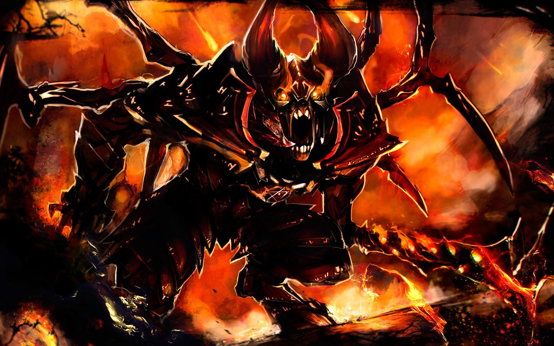 Dota2 : Doom Wide wallpapers