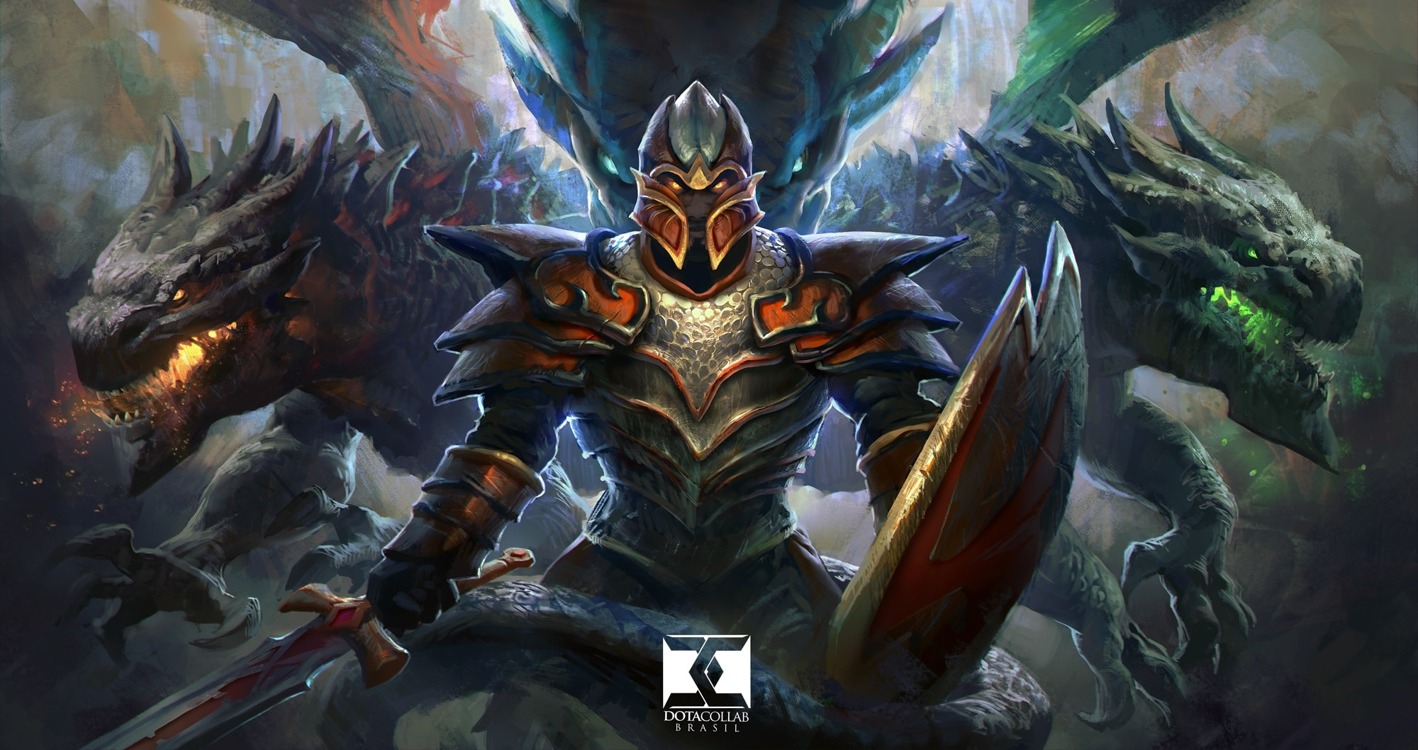Dota2 : Dragon Knight desktop wallpaper