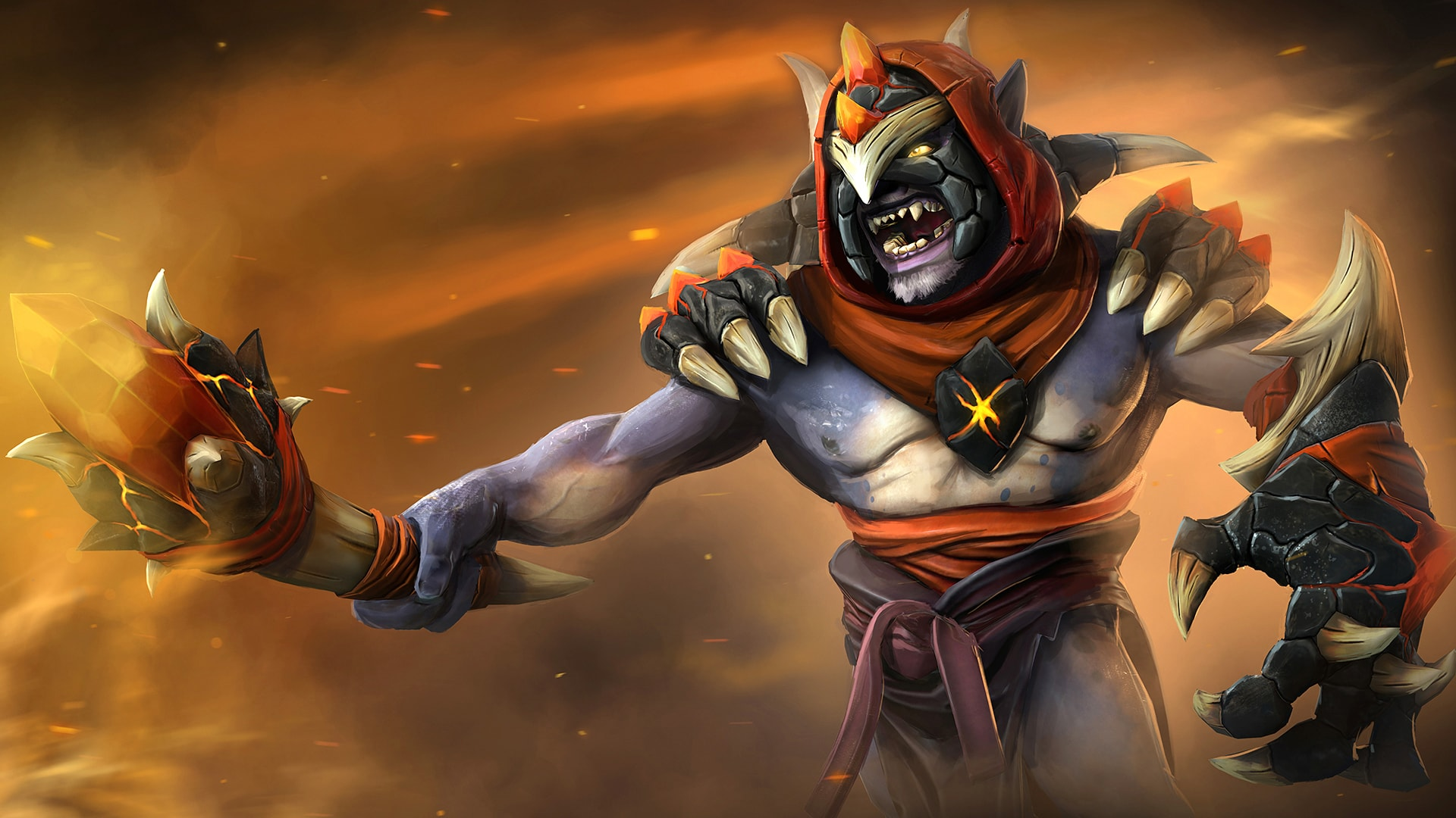 Dota2 : Lion widescreen