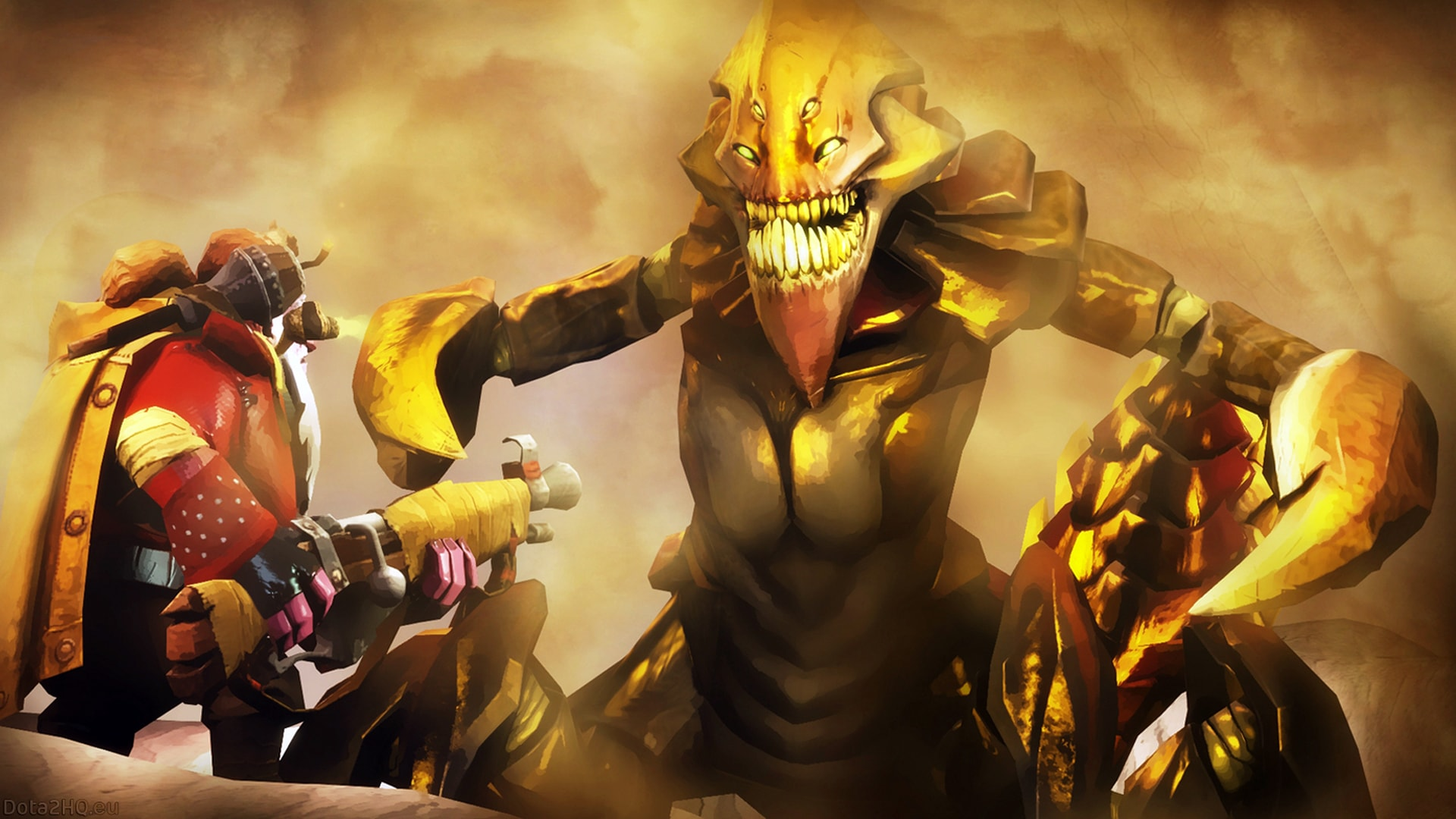 Dota2 : Sand King Wide wallpapers