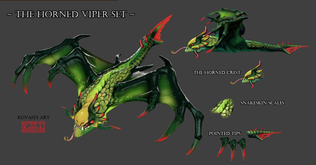 Dota2 : Viper widescreen wallpapers