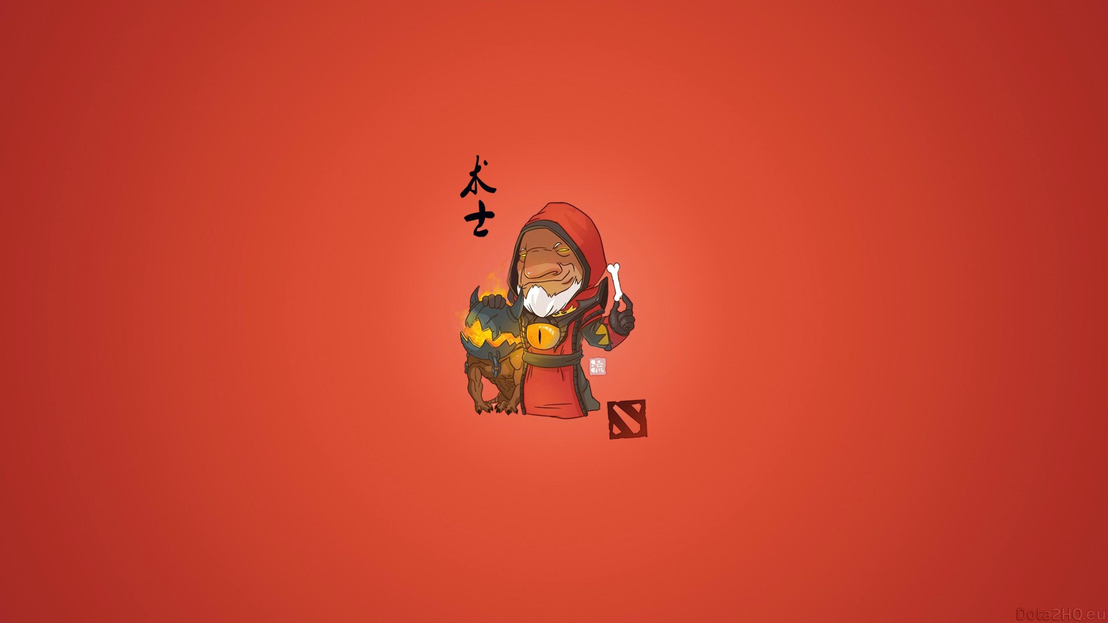 Dota2 : Warlock widescreen